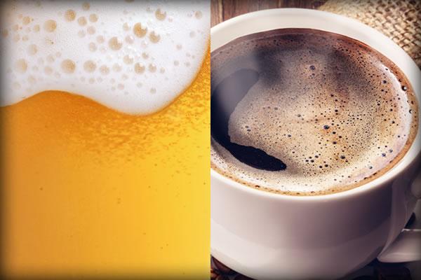 ビール コーヒー